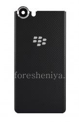 Оригинальная задняя крышка для BlackBerry KEYone, Черный карбон (Carbon Black)