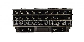 Оригинальная английская клавиатура в сборке с платой, сенсорным элементом и сканером отпечатков пальцев для BlackBerry KEYone