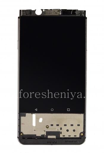屏LCD触摸屏+ +挡板用于BlackBerry KEYone