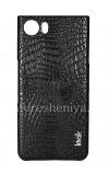 Фотография 1 — Фирменный пластиковый чехол-крышка IMAK Crocodile для BlackBerry KEYone, Черный