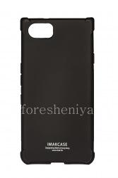 Фирменный силиконовый чехол IMAK Silky Case для BlackBerry KEYone, Черный (Matte Black)