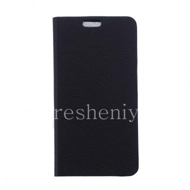 """Купить Кожаный чехол горизонтально открывающийся """"Wooden"""" для BlackBerry Leap"""