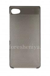 Оригинальный пластиковый чехол-крышка Hard Shell для BlackBerry Motion, Серый (Gray)