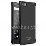 Фирменный силиконовый чехол IMAK Silky Case для BlackBerry Motion, Черный (Matte Black)