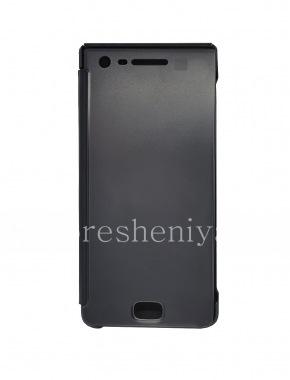 Купить Оригинальный кожаный чехол с открывающейся крышкой Privacy Flip Case для BlackBerry Motion