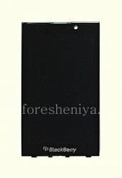 Экран LCD + тач-скрин (Touchscreen) в сборке для BlackBerry P'9982 Porsche Design, Черный