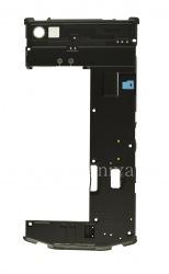 La partie centrale de l'affaire initiale pour le BlackBerry Porsche Design P'9982, Noir