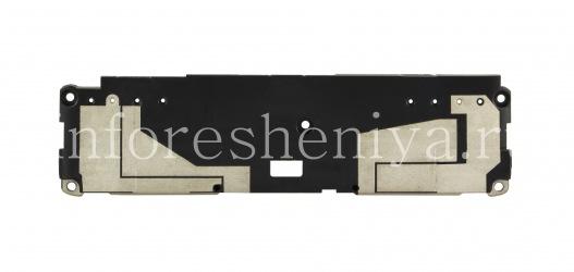 Нижняя панель корпуса с медиа-динамиками и антеннами BlackBerry Passport Silver Edition, Черный