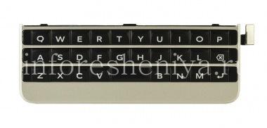 Buy Die ursprüngliche englische Tastatureinheit mit dem Vorstand und das Sensorelement für BlackBerry Passport Silver Edition