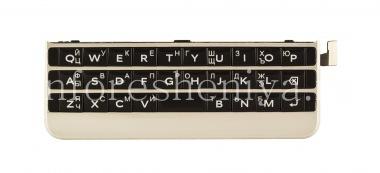 Купить Русская клавиатура в сборке с платой и сенсорным элементом для BlackBerry Passport Silver Edition (гравировка)