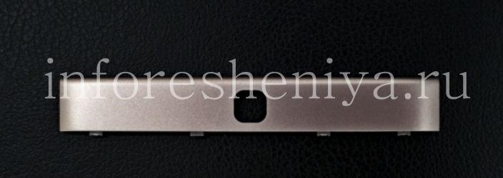 Верхняя часть корпуса для BlackBerry Passport Silver Edition, Серебряный (Slver)