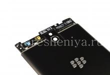 Оригинальная задняя крышка в сборке для BlackBerry Passport, Черный матовый (Black)