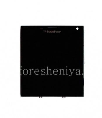 Экран LCD + тач-скрин (Touchscreen)  + основа в сборке для BlackBerry Passport