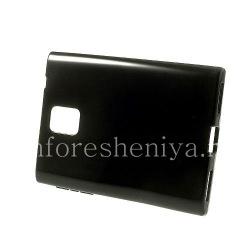 硅胶套紧凑型单色BlackBerry Passport, 黑