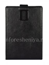 Кожаный чехол с вертикально открывающейся крышкой для BlackBerry Passport, Черный, тип 1