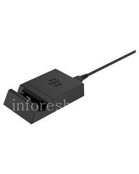 """Оригинальное настольное зарядное устройство """"Стакан"""" Sync Pod для BlackBerry Priv, Черный (Black)"""
