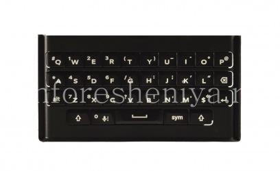 Оригинальная английская клавиатура с держателем для BlackBerry Priv, Черный