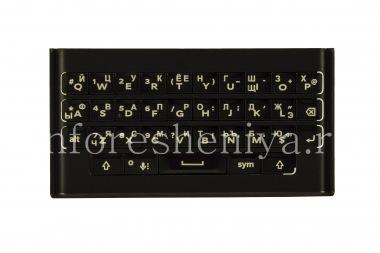 Купить Русская клавиатура с держателем для BlackBerry Priv (гравировка)