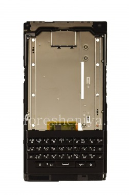 Buy Middle part of housing in the fully assembled with the Russian keyboard (engraving), a speaker, a microphone and a loop side buttons for BlackBerry Priv