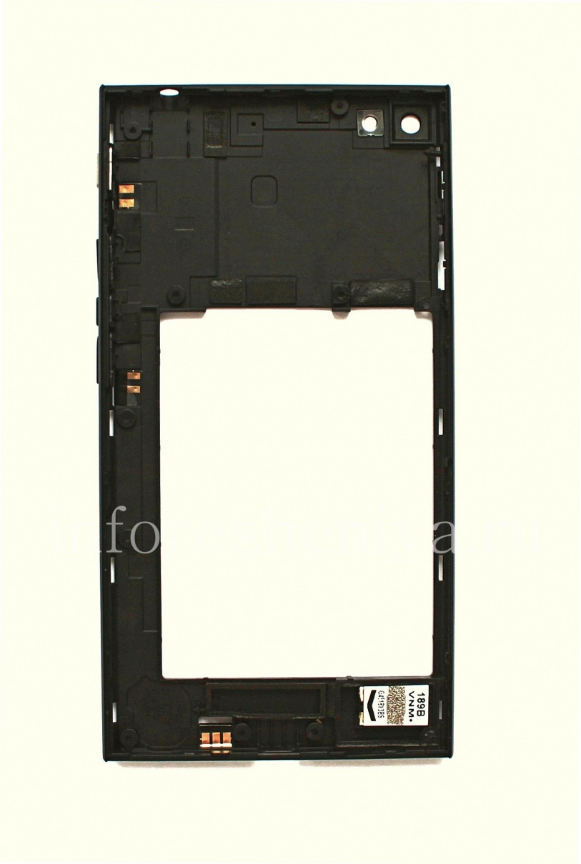 The middle part / original bezel housing for BlackBerry Z3 — Everything for  BlackBerry  InfoResheniya / bbry net