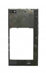 Средняя часть/ ободок оригинального корпуса для BlackBerry Z3, Черный