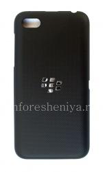 对于BlackBerry Z5原装后盖, 黑色压花(黑色救济)