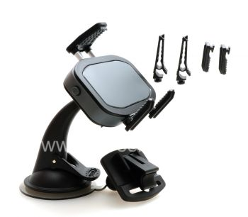 Фирменный универсальный держатель в автомобиль iBolt ProDock Alumina для BlackBerry