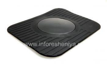 在汽车PanaVise超薄型短跑垫为BlackBerry企业垫支架