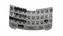 Оригинальная английская клавиатура для BlackBerry 8300/8310/8320 Curve, Серый