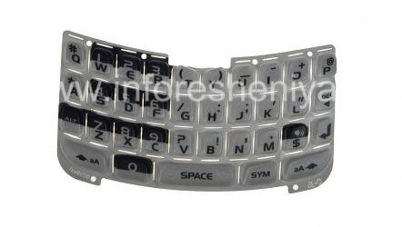 Asli keyboard Inggris BlackBerry 8300 / 8310/8320 Curve, abu-abu