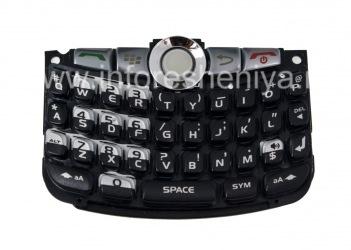 ब्लैकबेरी कर्व 8300/8310/8320 के लिए मूल अंग्रेजी कीबोर्ड विधानसभा, काला