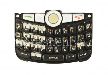 Русская клавиатура в сборке для BlackBerry 8300/8310/8320 Curve (гравировка), Черный