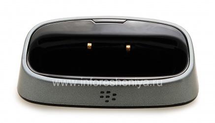 """Настольное зарядное устройство """"Стакан"""" для BlackBerry 8300/8310/8320 Curve (копия), Металлик"""