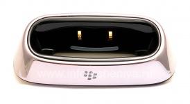 """Оригинальное настольное зарядное устройство BlackBerry Charging Pod """"Стакан"""" для BlackBerry 8300/8310/8320 Curve, Металлик"""