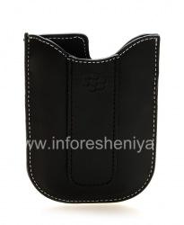 Кожаный чехол-карман для BlackBerry 8300/8310/8320 Curve (копия), Черный