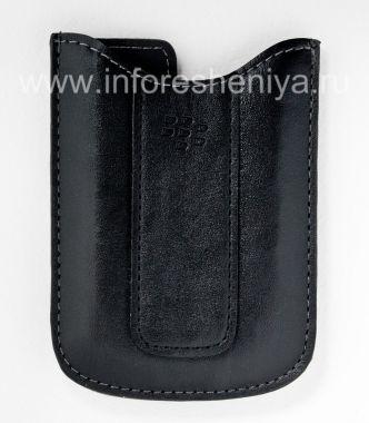 Купить Оригинальный кожаный чехол-карман Vinyl Pocket Case для BlackBerry 8300/8310/8320 Curve