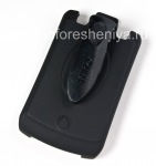 Фирменный чехол-кобура Cellet Elite Ruberized Holster для BlackBerry 8300/8310/8320 Curve, Черный