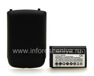 Hochleistungsbatterie für das Blackberry Curve 8520/9300, Schwarz