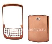 Цветной корпус (из двух частей) для BlackBerry 8520 Curve, Темная бронза, хром