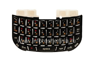 Купить Русская клавиатура с красными цифрами BlackBerry 8520 Curve
