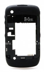 La partie centrale de l'affaire initiale pour le BlackBerry Curve 3G 8520/9300 de, Noir