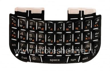 Русская клавиатура BlackBerry 9300 Curve 3G, Черный