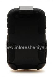 Фирменный чехол повышенного уровня защиты + кобура Seidio Innocase Rugged Holster Combo для BlackBerry 8520/9300 Curve, Черный (Black)