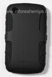 Фирменный чехол повышенной прочности Seidio Innocase Active X для BlackBerry 8520/9300 Curve, Черный (Black)