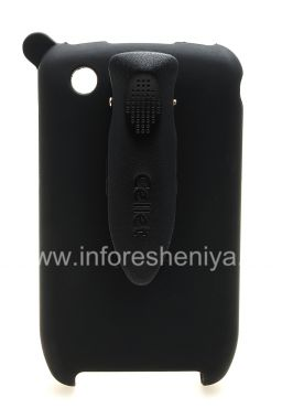 Купить Фирменный пластиковый чехол-кобура Cellet Elite Ruberized Holster для BlackBerry 8520/9300 Curve