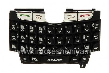 Русская клавиатура для BlackBerry 8800  (гравировка), Черный