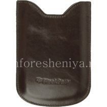 Оригинальный кожаный чехол-карман Leather Pocket Case для BlackBerry 8800/8820/8830, Коричневый (Brown)
