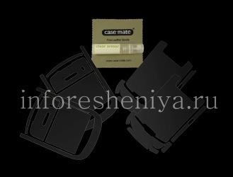 Фирменная защитная пленка для экрана и корпуса Case-Mate  Clear Armor для BlackBerry 8900 Bold, Прозрачный