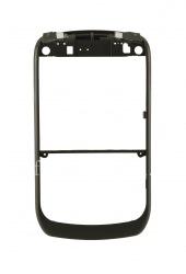 Цветной ободок для BlackBerry 8900 Curve, Черный матовый