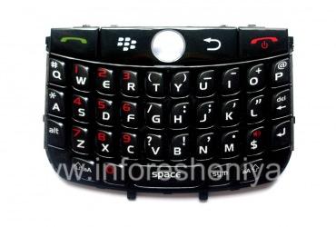 Оригинальная английская клавиатура для BlackBerry 8900 Curve, Черный